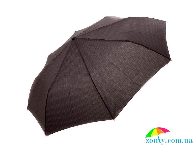 Разноцветный зонт с куполом из сатина